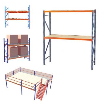 4 Tiers Anti-Rusting Supermarket Cold Room Modular Storage Shelving for Cheese
