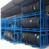 Metal Storage Cabinet 4 Shelves Rolling Tool Garage Warehouse Studio Shelving